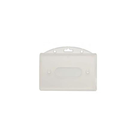 Portebadges Transparent Rigide Gumaco - Porte badge rigide