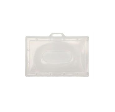 Porte-badges transparent souple