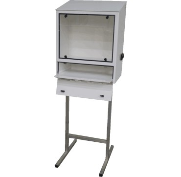 Food-safe protective cabinet for computer hardware AGRO EC LCD