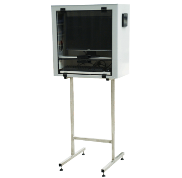 Protective industrial cabinet for computer hardware CPA