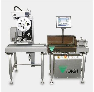 High speed dynamic weigh price labeler DIGI HI700