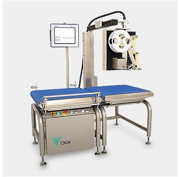 High speed dynamic weigh price labeler DIGI WIW700