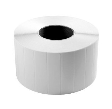 Rouleau d'étiquettes 60x30 PP gloss blanc