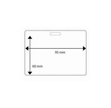 Pochette plastique 59x86mm