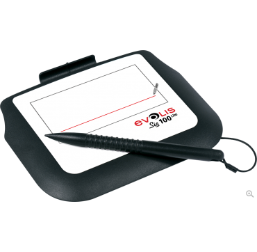 Compact LCD signature pad