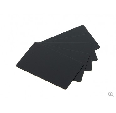 Evolis PVC mat black cards