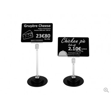 Evolis Magnetic price tag holder 12cm