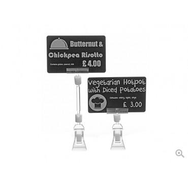 Evolis Price tag clamps 4cm