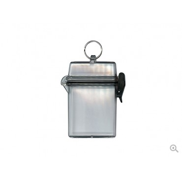 Evolis Clearbox - waterproof badge holder with ring