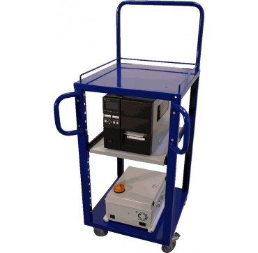 Trolleys+rechargeable batteries LOGISTICS (mobile printing station)