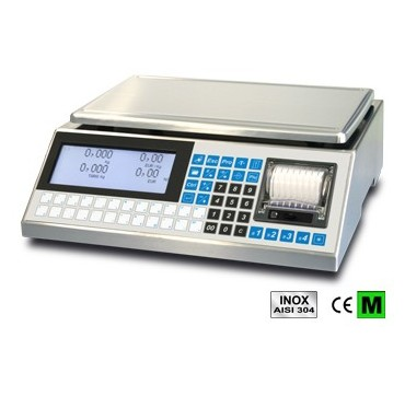 Weighing with Ticketprinter